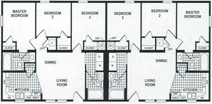 Prestige Manufactured Homes Duplex 4