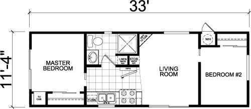 Prestige Manufactured Homes - Park Model 3